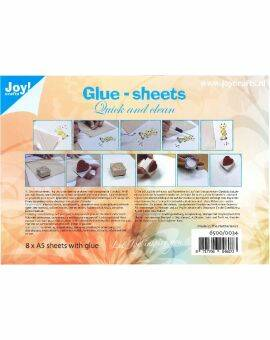 Glue Sheets 8 vel - Quick and Clean A5