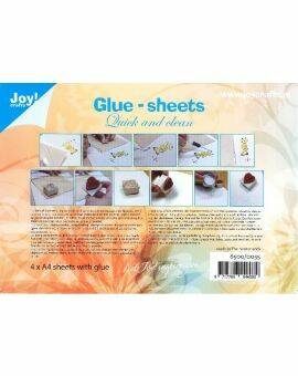 Glue Sheets 4 vel - Quick and Clean A4