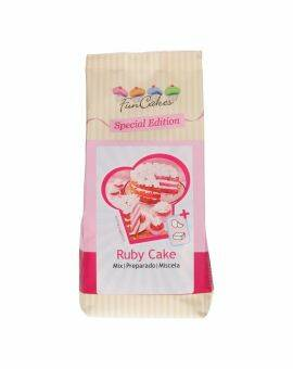 Funcakes special edition mix 400 gram- Ruby cake