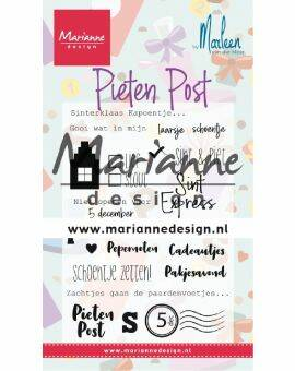 Clear Stamps- Pietenpost by Marleen
