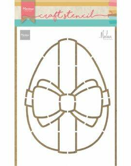Craft Stencil Easter egg by Marleen