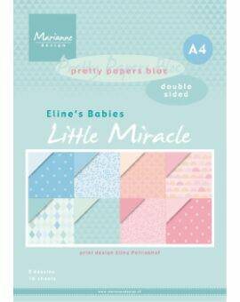 Paperpad Elines babies little miracles A4 double sided