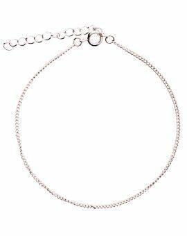 Armband 17 cm - zilver